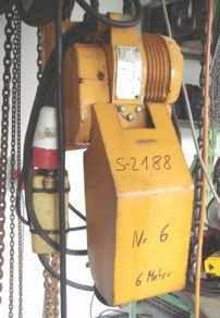 E-Kettenzug, Elektro Hubwerk, Kran
