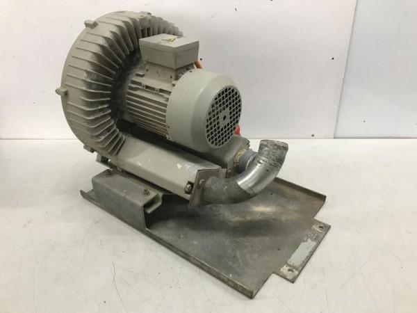 Seitenkanalverdichter Vakuumpumpe mit Elektromotor, Sauggebläse