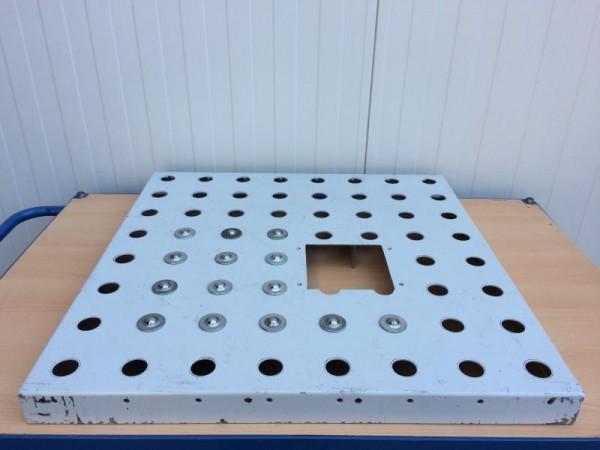 Kugelrollentisch für Rollenbahnbreite 800 mm, Kugeltisch zum Transport von Stückgütern, mit Kugelrol