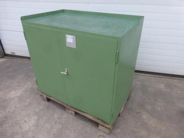 Metallschrank, Werkstattschrank, Lagerschrank mit Türen vermutlich