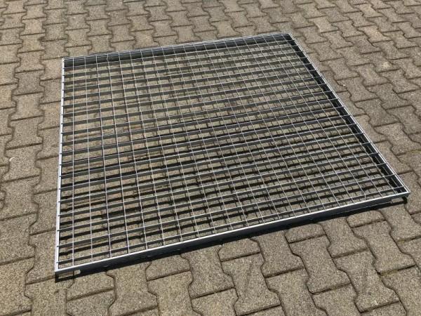 Gitterrost verzinkt, Regalboden für Schwerlastregal