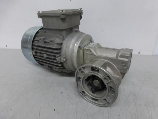 Getriebemotor mit Schnecken-Winkelgetriebe Elektromotor, Schneckengetriebemotor