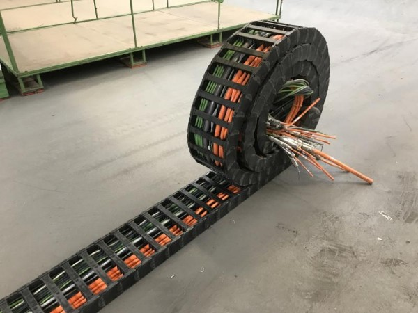 Energiekette, Kabelschlepp, E-ChainSystem, Chain Cable Carrier