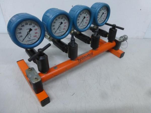 4-fach Hydraulikverteiler