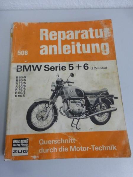 Reparaturanleitung BMW Motorräder Serie 5 + 6 (Nr.508)