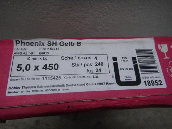 1 Paket = 24 kg Stabelektroden, Schweißelektrode