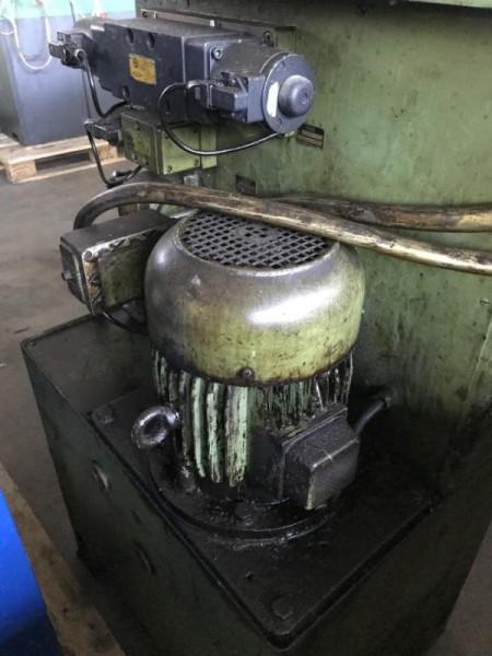 Hydraulikaggregat mit Hydraulikpumpe, Hydraulik Aggregat von einer Gewinderollmaschine, Kaltwalzmasc