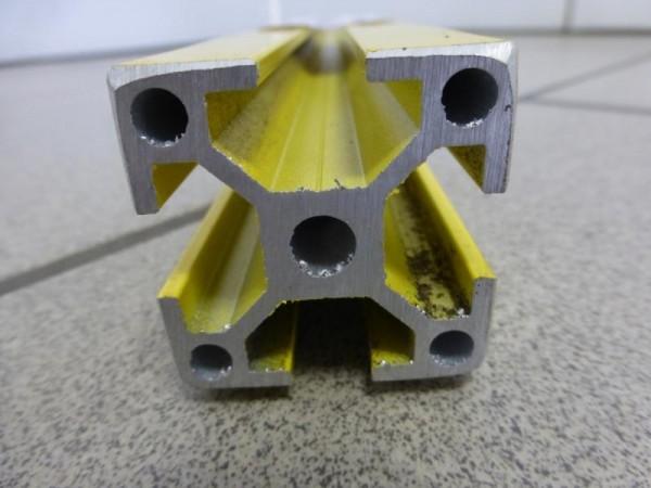 1 Posten Aluminium Systemprofil BOSCH Profil Ähnlich, bzw. kompatibel mit ITEM oder HERON, Minitec