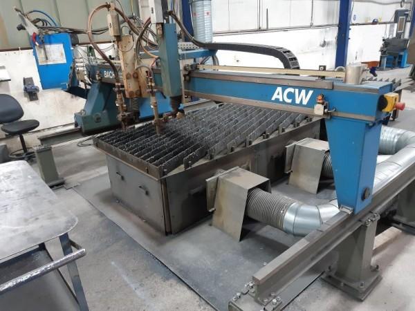 CNC Brennschneidanlage, Brennschneidmaschine