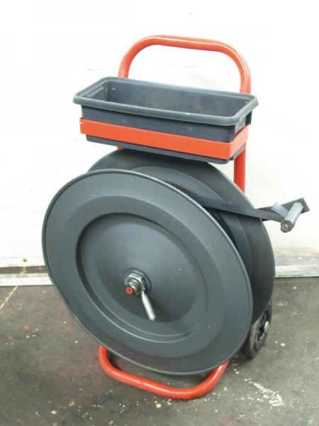 Abrollwagen für Kunststoff-Verpackungsband, Umreifungsband
