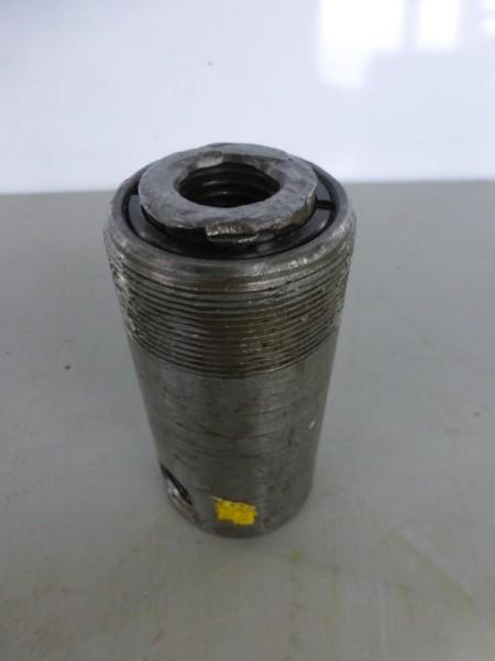 Einfachwirkender Hydraulikzylinder mit Federrückzug, Hydraulikstempel, Lukaszylinder