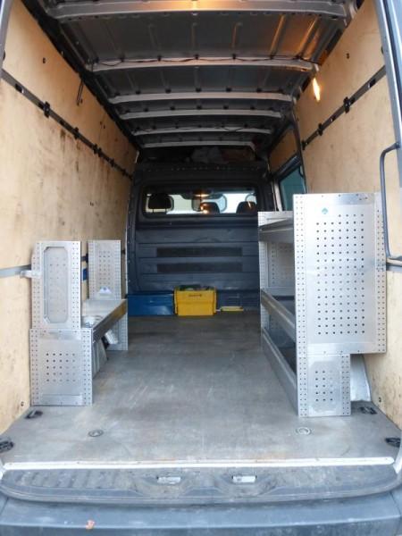Werkstatteinrichtung, Regalsystem für Transporter