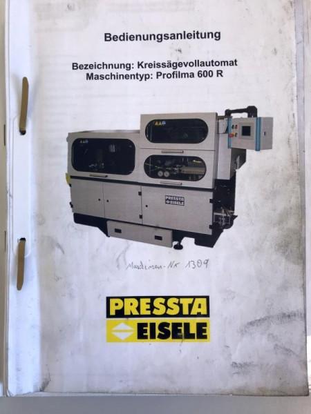 Bedienungsanleitung, Schaltplan Pressta Eisele