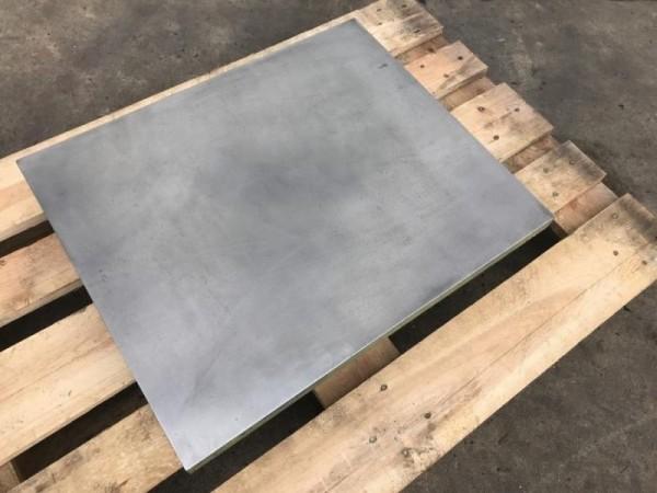 Richt- und Schweißplatte Stahlguß stark verrippt
