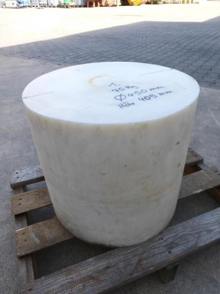 Kunststoffwelle, Rundmaterial PA = Polyamid oder POM, Rundstab, Kunststoffrolle, Kunststoff-Halbzeu