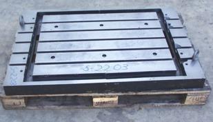 Richt- und Schweißplatte Richt- und Schweißplatte aus Stahlguss