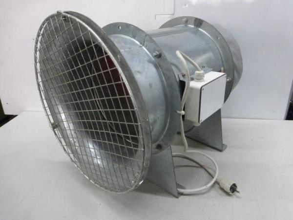 Axial-Hochleistungsventilator, Wandventilator, für Absaugung oder Belüftung