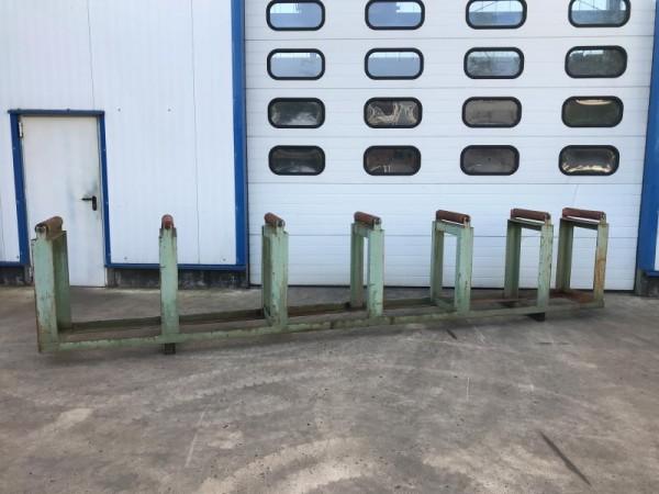 Rollenbahn mit Stahl Tragrollen