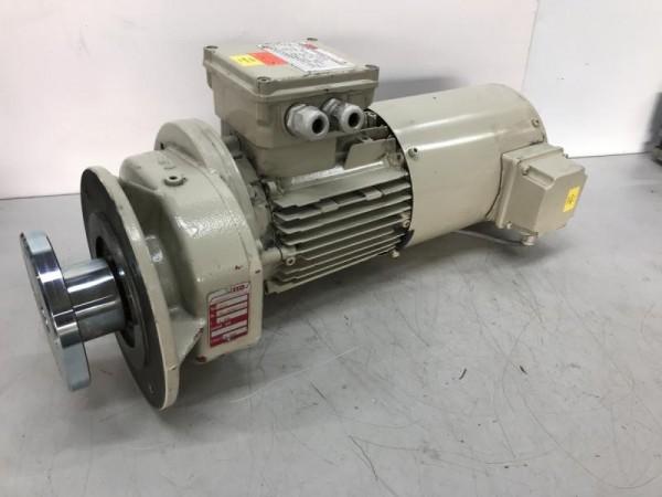 Stirnradgetriebemotor, Getriebemotor, Elektromotor Stillstandsantrieb