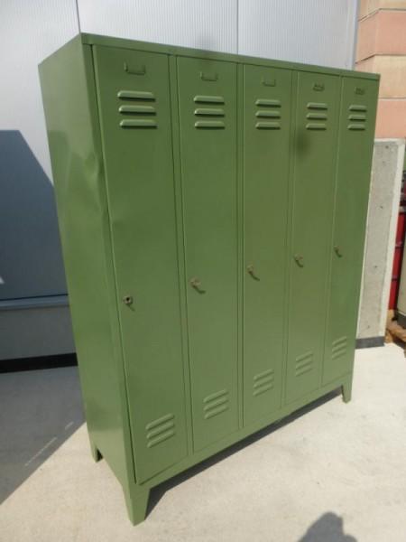 Garderobenschrank, Umkleidespind mit 4 Türen