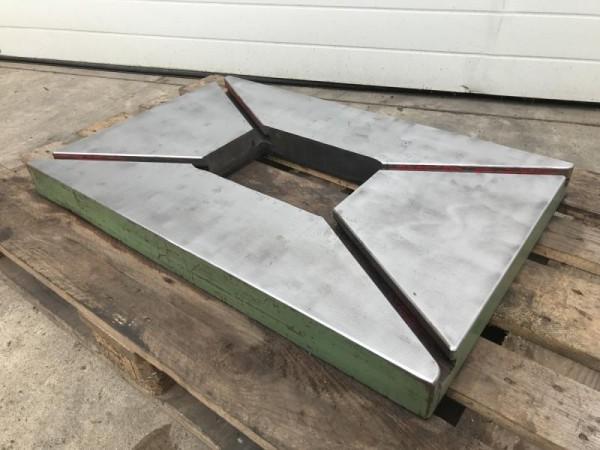 Aufspannplatte mit T-Nuten Tischzwischenplatte für Exzenterpresse