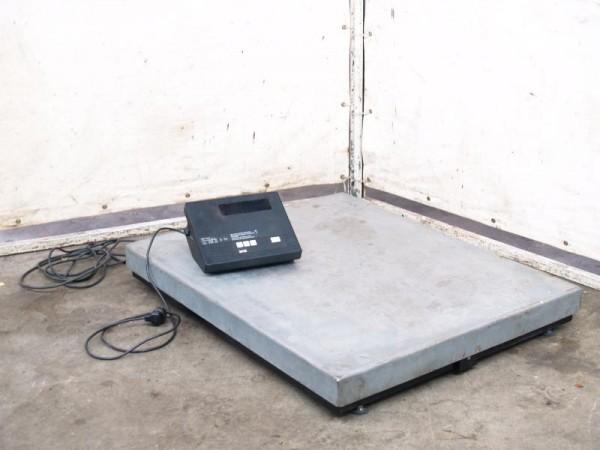 Plattform-Waage