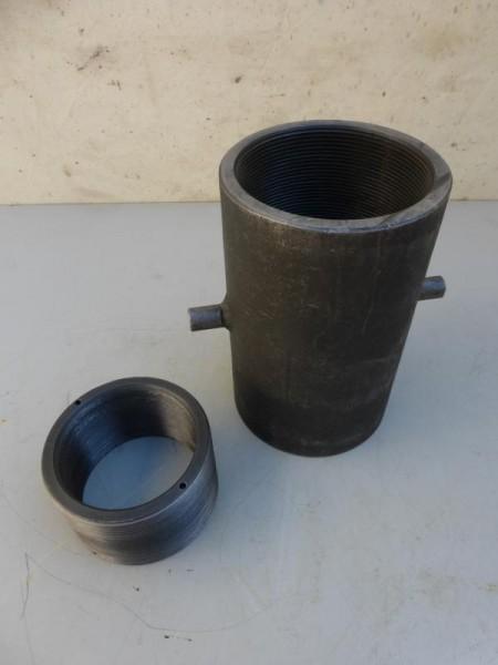 Gewindestufensatz Gewindebuchse aus Stahl mit Innengewinde