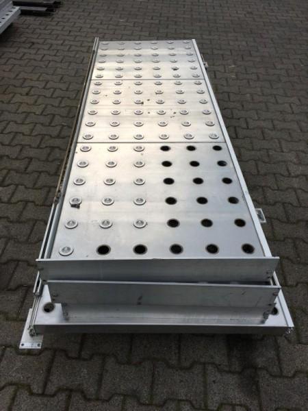 Kugelrollentisch für Rollenbahnbreite 700/920 mm, Kugeltisch zum Transport von Stückgütern, mit Kuge