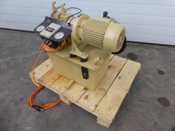 Hydraulikaggregat, Hydroaggregat mit Doppelpumpe, Tandempumpe, Hydraulik Aggregat