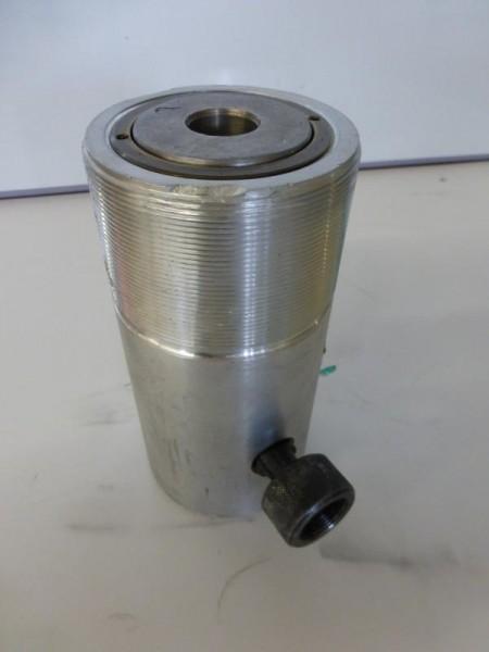 Einfachwirkender Leichtmetallzylinder mit Federrückzug, Hydraulikstempel, Hydraulikzylinder, Lukaszy