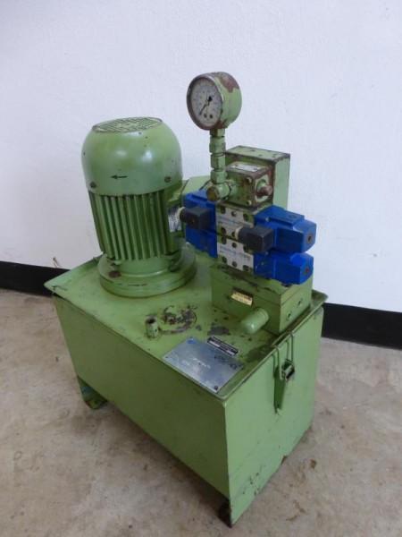 Hydraulikaggregat, Hydraulik Aggregat