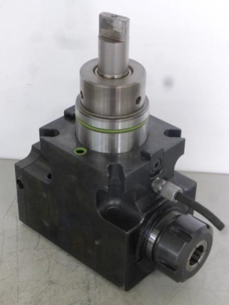 Angetriebenes Werkzeug, Angetriebener Werkzeughalter für CNC Drehmaschine