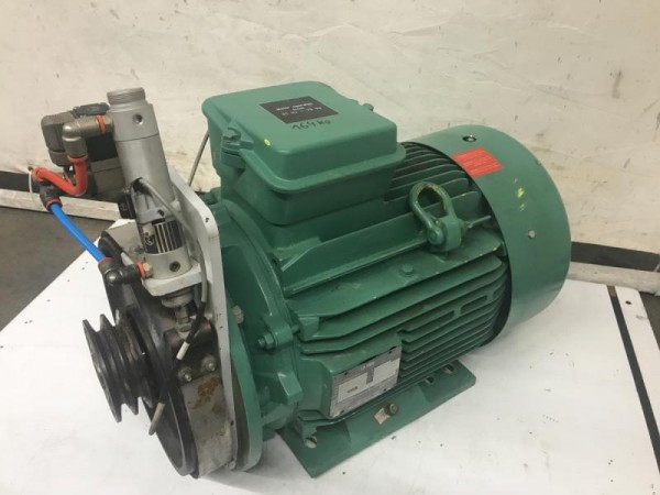 Elektromotor, E-Motor, Drehstrommotor, Kraftstrommotor Fußmotor, Flanschmotor