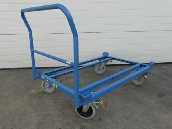 Transportwagen, Plattformwagen für Europaletten Palettenroller, Palettenfahrgestell, Palettenwagen