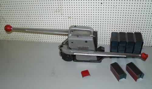 Spann- und Verschlussgerät für Verpackungsstahlband, Umreifungsgerät