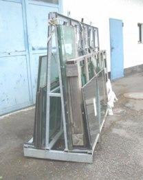 Transportgestell für Glasplatten SancoGlas