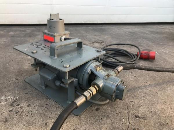 Oelpumpe mit E-Motor Hydraulikpumpe