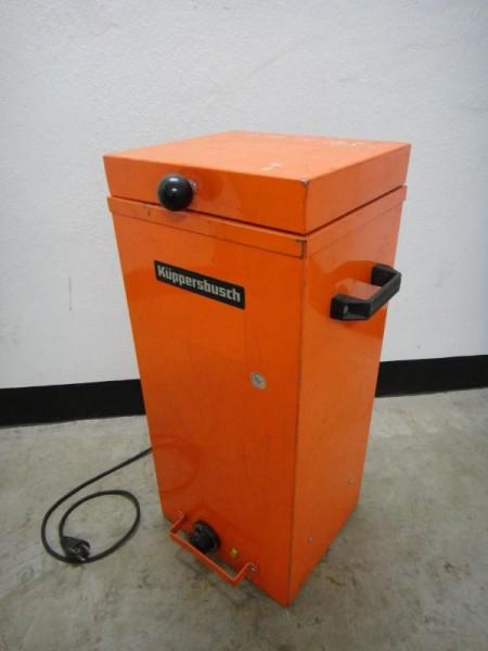 Elektrodenofen, Elektrodentrockner