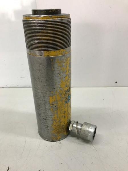 Einfachwirkender Hydraulikzylinder mit Federrückzug, Hydraulikstempel, Lukaszylinder, Maschinenheber