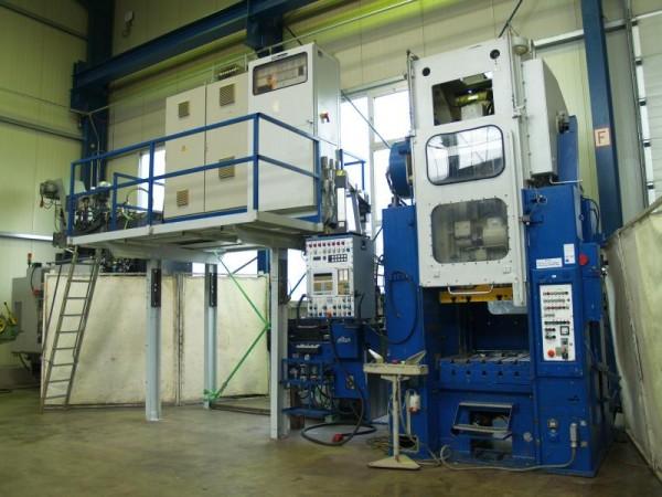 Doppelständer Exzenter-Stanzautomat Exzenterpresse mit Walzenvorschub ALBA
