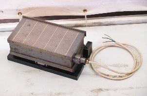Elektro Sinus-Magnetplatte, Sinusmagnet, E-Sinus-Magnetspannplatte
