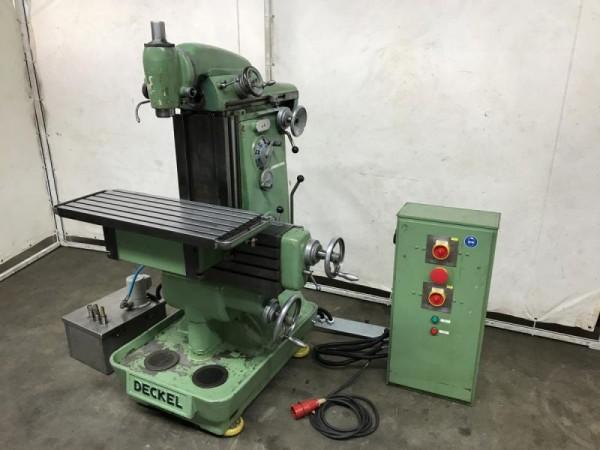 Universal Werkzeugfräsmaschine, Fräsmaschine
