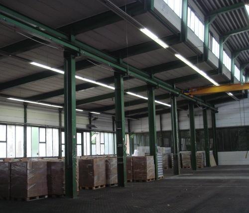 Kranlaufschienen - Stahlträger