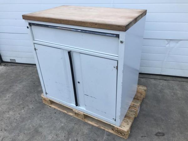 Metallschrank, Werkstattschrank mit Schublade und Türen