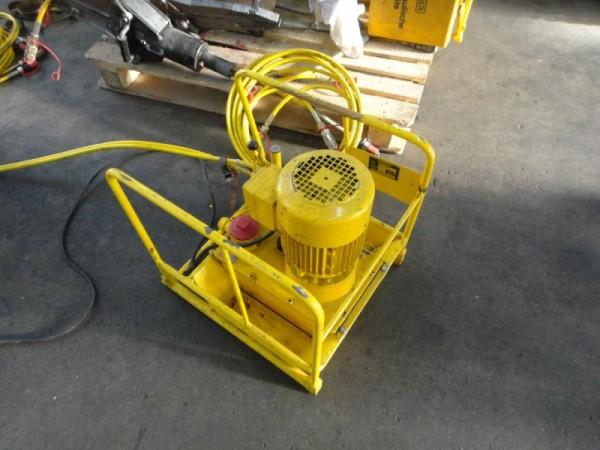 Spreiz- und Pressgerät mit Hydraulikaggregat Hydraulische Spreizzange, Hydraulikspreizer