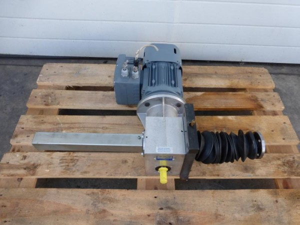 Elektromotor, Getriebemotor mit Schneckenrad Hubgetriebe E-Motor mit Frequenzumrichter