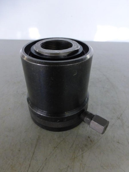 Einfachwirkender Hohlkolbenzylinder mit Federrückzug, Hydraulikstempel, Hydraulikzylinder, Lukaszyli