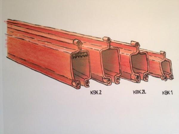 Kranschienen aus Systemprofilen, Leichtkransystem für Hängekranbahn, Krananlage